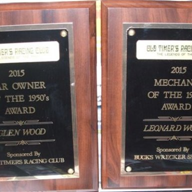 Leonard & Glen Wood Awards