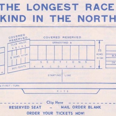 TS04B1  TRENTON  N..J. SPEEDWAY, FIFTH ANNUAL,TRENTON 200 STOCK CAR RACE,SUNDAY,AUGUST 20,1967 BACK COVER OF 4 PAGE FOLD UP BROCHURE