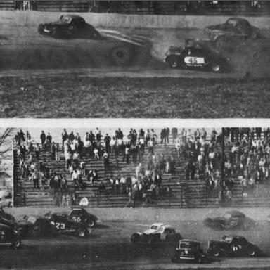 Crowded South Boston Speedway 1967