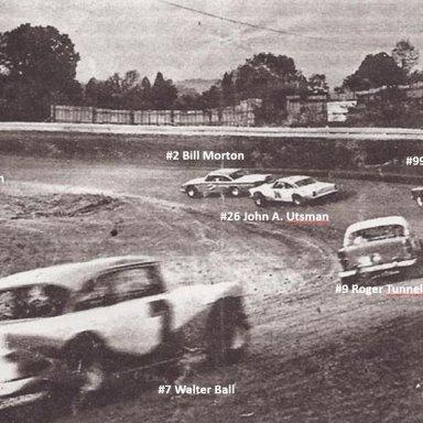 Sportsman Speedway, Turn 1, Summer 1968