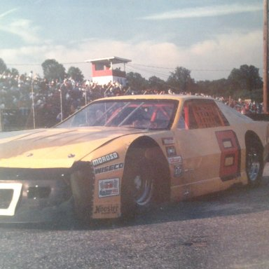 old yellow 1991 at Greenville Pickens Speedway