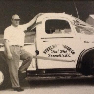 Steelman tow truck