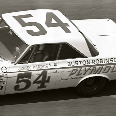 Jimmy Pardue 1964 Daytona 500