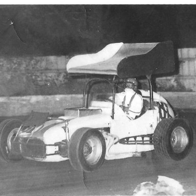 Tim hallock Outlaw sprint at Orange cty n.y. 1968