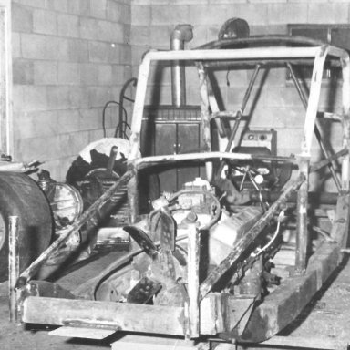 winter of 1967 TIMCO chassis # 1 of 7 this was the 49 sportsmen champ in 68