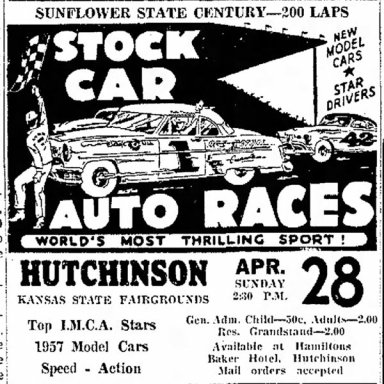 1957 Sunflower State Century race