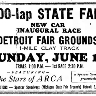 June 14, 1964 Michigan State Fairgrounds