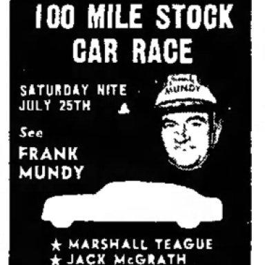 July 25, 1953 Illiana Speedway