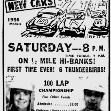 July 28, 1956 Toledo Raceway Park