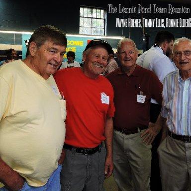 Wayne, Hoenes, Tommy Ellis, Ronnie Elder & Jack Tant
