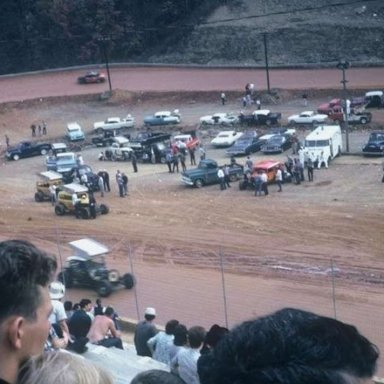 Bill Morton practicing at Kingsport, 1966