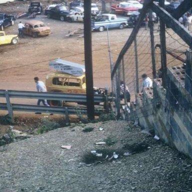 Layman Utsman at Kingsport Speedway, 1966