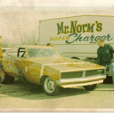 Mr. Norm Charger Funny Car