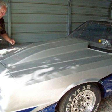 Rich & his race car