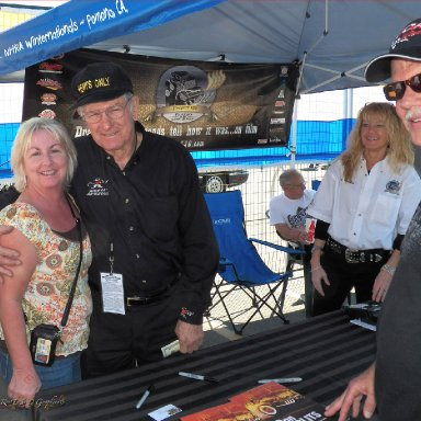 Friends from the NHRA Finals... Feb 2012