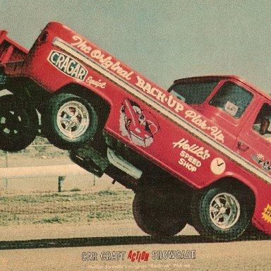 back-up pick-up wheelstander