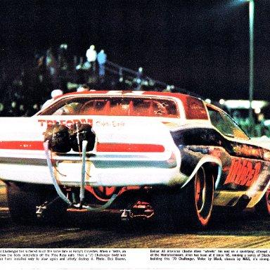 invader rear funny car