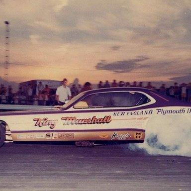 king & marshall funny car