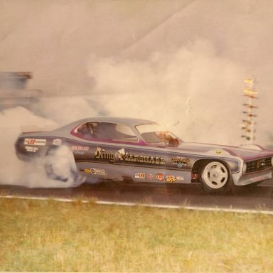 king & marshall duster funny car