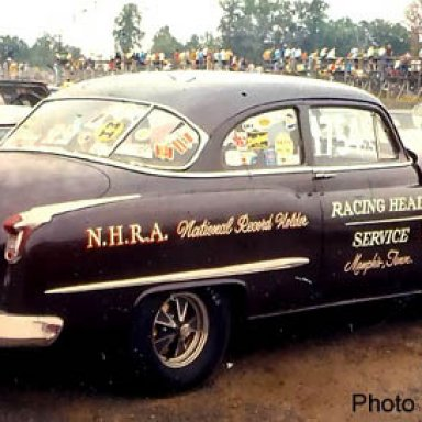 Racing Head Service U-Stock Oldsmobile national Record Holder