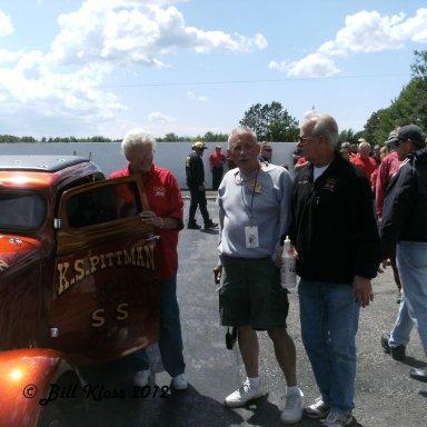 Barb Hamilton,Bob Wenzelburger and Dave Hales