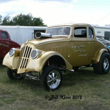 Mark Benjamin's Willys