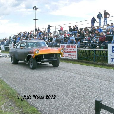 56 Ford tow car with dragster