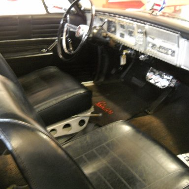 1965 Plymouth Belvedere - Van seat interior
