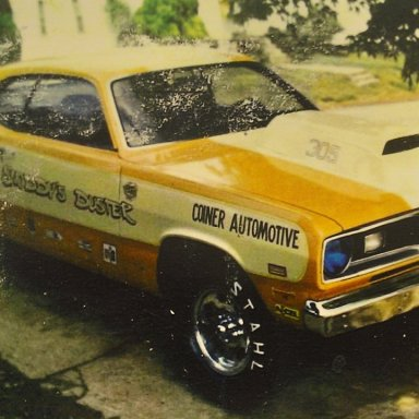 RANDY SNODDY 1970 DUSTER D/MP