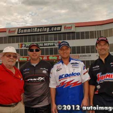 4  PRO STOCK DRIVERS ALL IN THE SAME PLACE AT THE SAME TIME