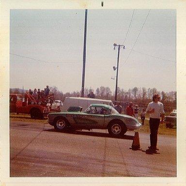 '59 or '60 Vette