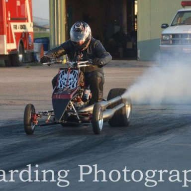 During NHRA Point event at Rolling Thunder in Iowa