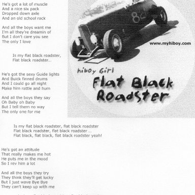 Flat Black Roadster 2