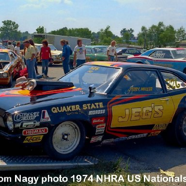 Jerry Miller 1974 NHRA US Nationals #1