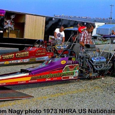 Robert Anderson 1973 NHRA US Nationals #2