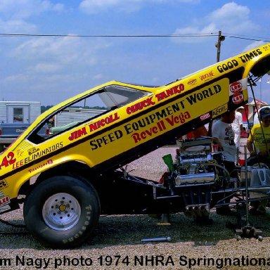 Jim Nicoll 1974 NHRA Springnationals