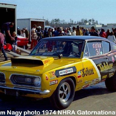 John Tedder 1974 NHRA Gatornationals