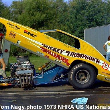 Mickey Thompson 1973 NHRA US Nationals #1
