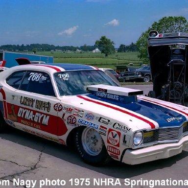 Larry Huff 1975 NHRA Springnationals #1