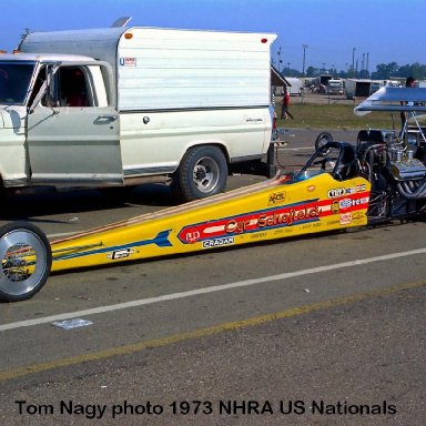 Cyr & Schofield 1973 NHRA US Nationals #1