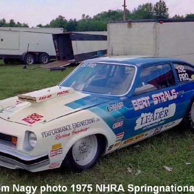Bert Straus 1975 NHRA Springnationals