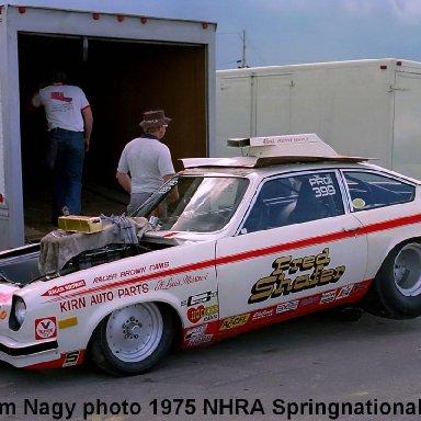 Fred Shafer 1975 NHRA Springnationals