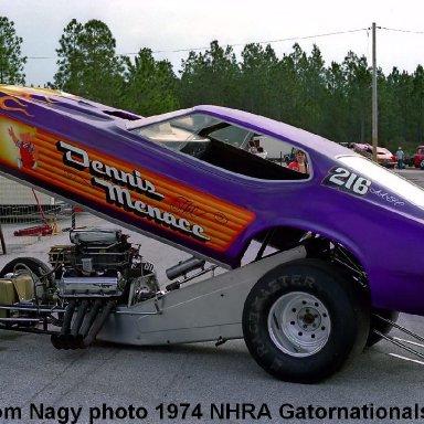 Harry Hudson 1974 NHRA Gatornationals