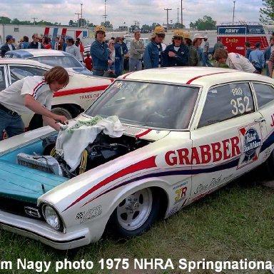 Jim Halloran 1975 NHRA Springnationals #1