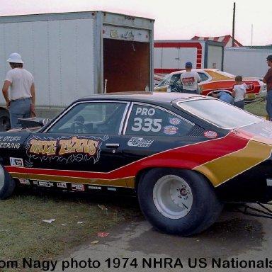 Dale Evans 1974 NHRA US Nationals #1
