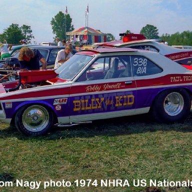 Billy Stepp 1974 NHRA US Nationals #1b