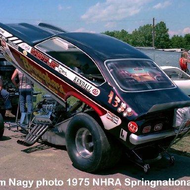 Harry Sheffler 1975 NHRA Springnationals #1