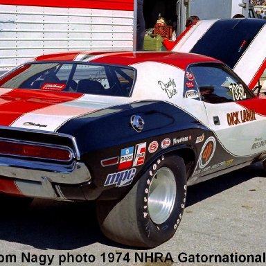 Dick Landy 1974 NHRA Gatornationals