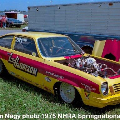 Lynn Harrison 1975 NHRA Springnationals