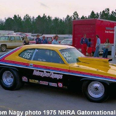 Kenny Hahn 1975 NHRA Gatornationals